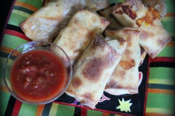Mexirolls perfect for snack or school lunch! 2 WW points