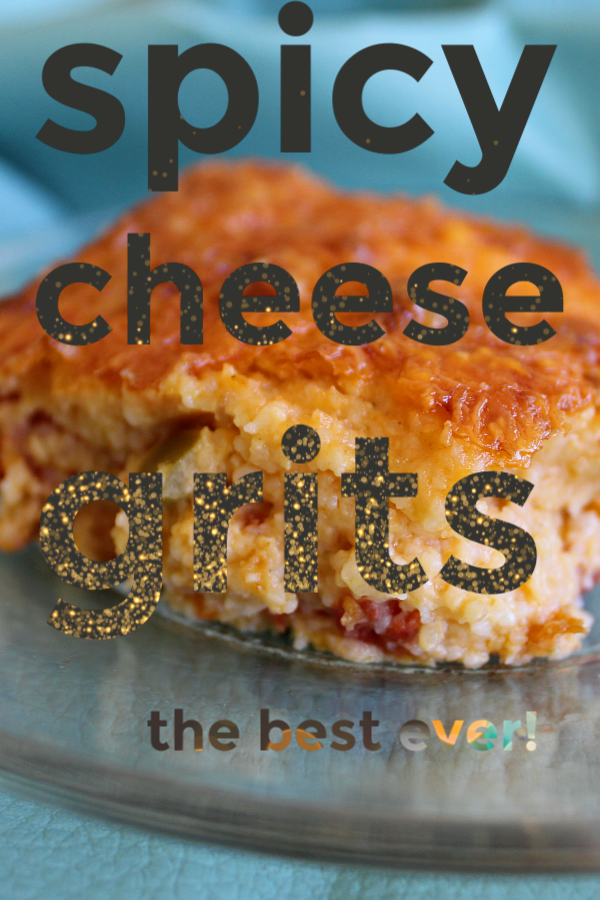 the best ever spicy cheese grits pinterest pin photo