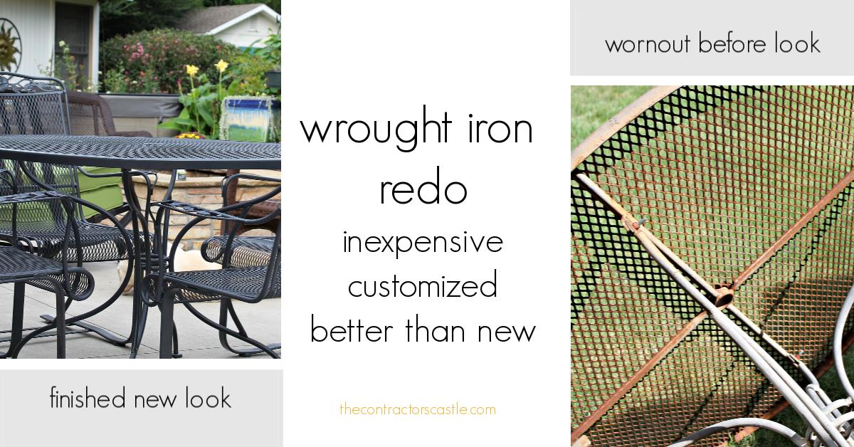 Just Like New…Wrought Iron ReDo!