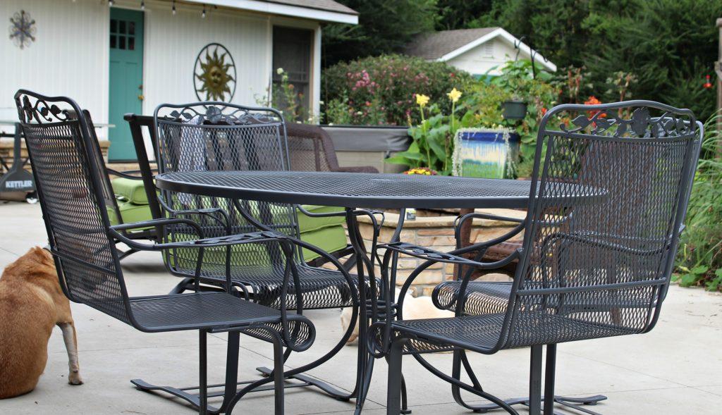 Just Like New Wrought Iron Redo, Redo Outdoor Furniture