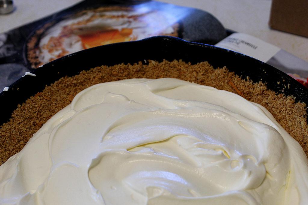 Dreamy cream filling in best ever pie crust