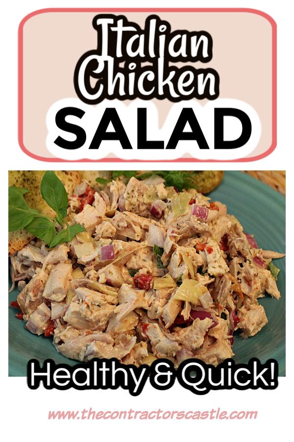 Easy Italian Chicken Salad