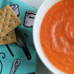 bacon tomato soup with crackers
