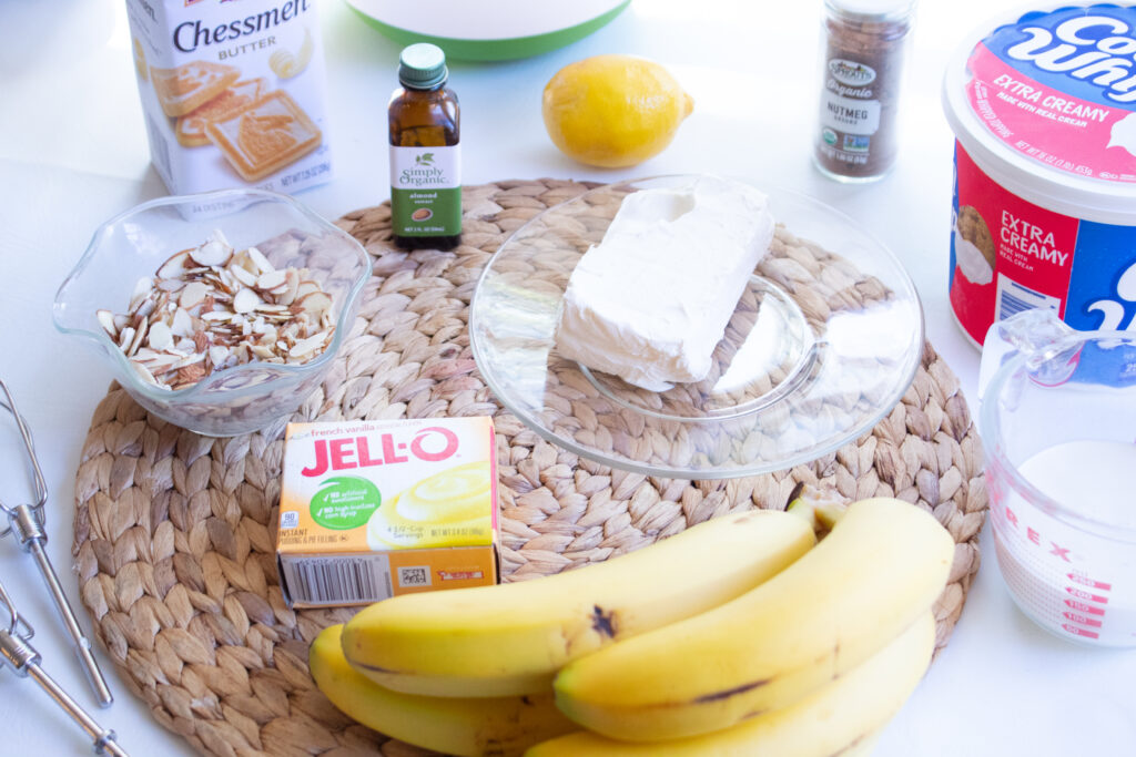 ingredients needed for banana pudding