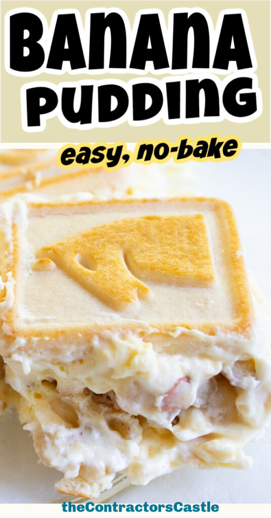 easy no bake banana pudding