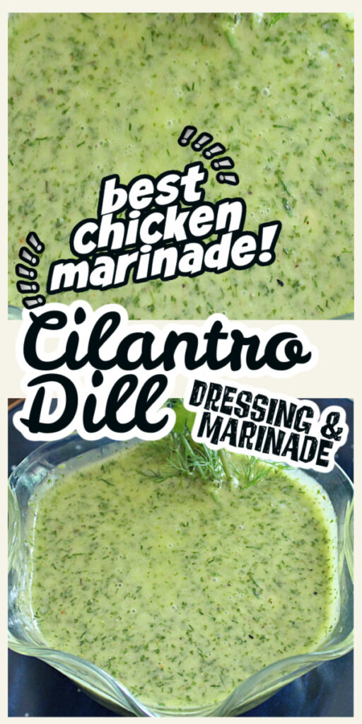 close up view of the best chicken marinade