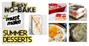 FB no bake summer desserts