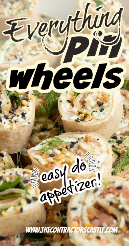 everything pin wheels easy do appetizer