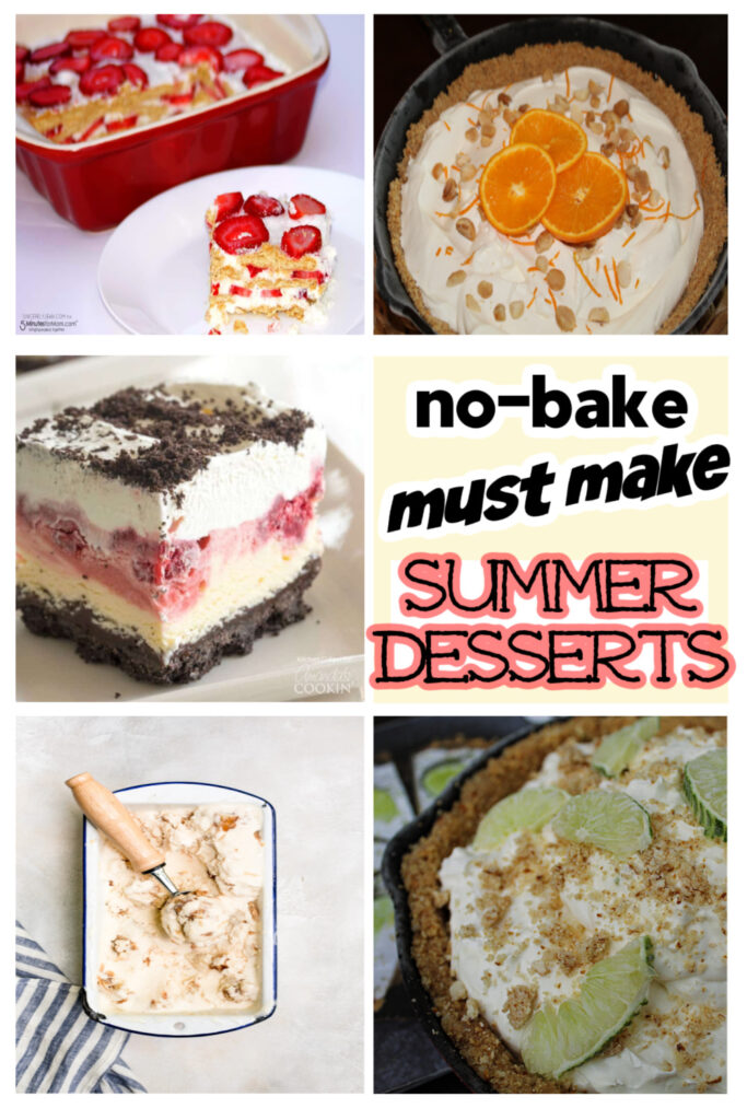 must make no bake summer desserts