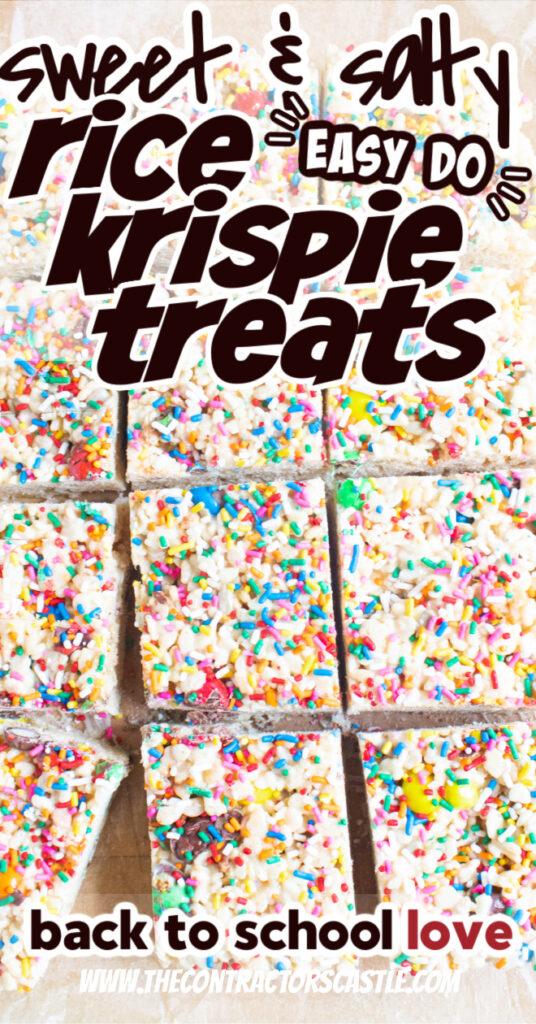 sweet and salty rice krispie treats