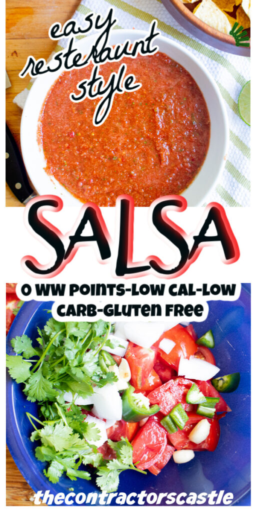 pinterest for for salsa resteraunt style