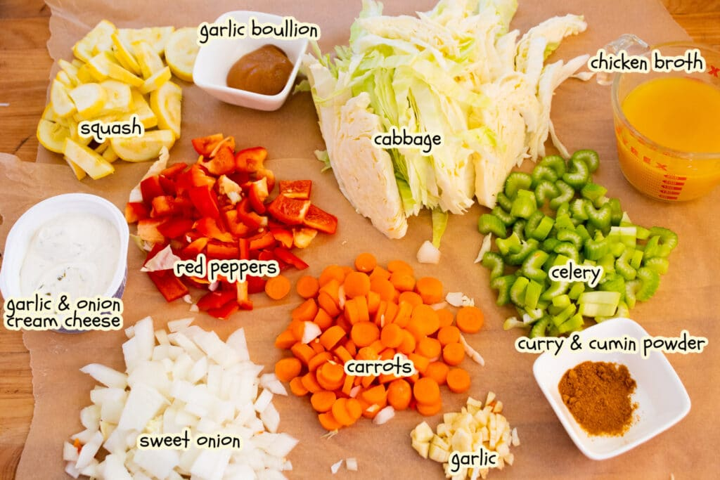 curry vegetable soup ingredients