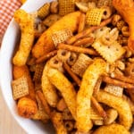 homemade cheetos chex mix recipe